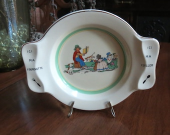 Child's Nursery Rhyme Dinner Plate Great Britain
