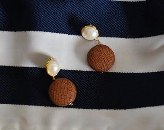 handmade classic earrings