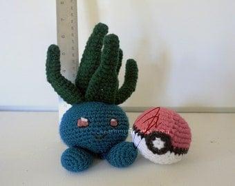 POKEMON - Oddish Crochet Plushie Doll