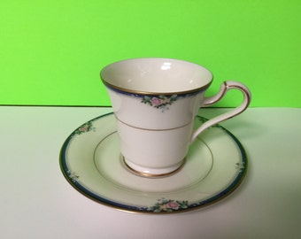 Vintage Mikasa Tea Cup and Saucer