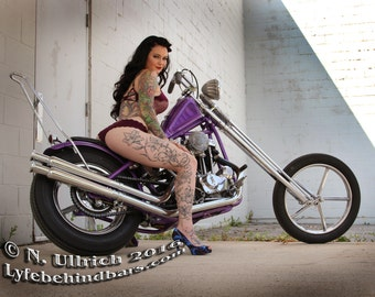 Natanic's Pin-ups 2017 AND 2018 Biker / Hot Rod calendars!!!  Special deal for both!