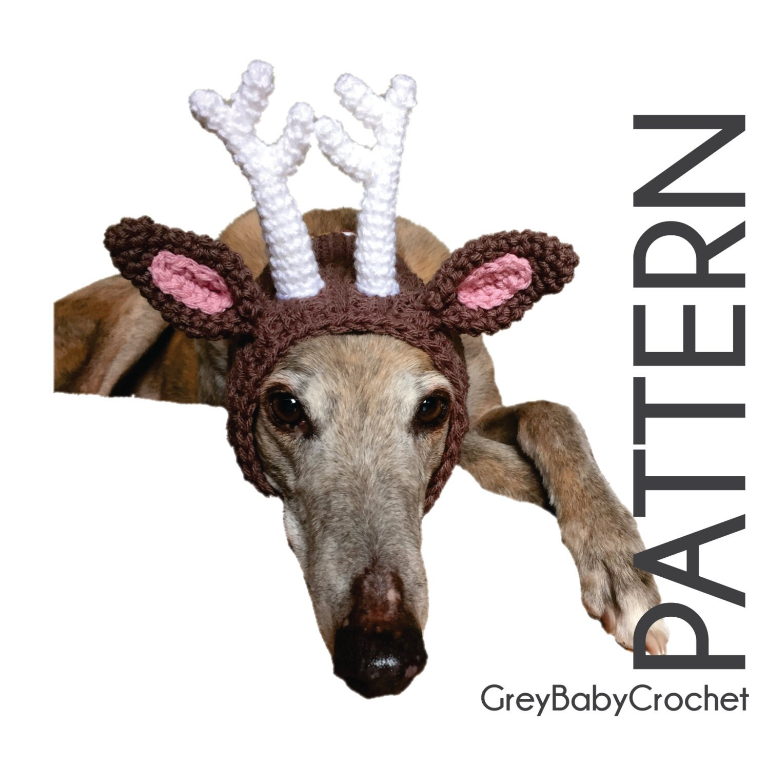 CROCHET PATTERN - Deer Antler Snood - Instant Download from GreyBabyCrochet o...