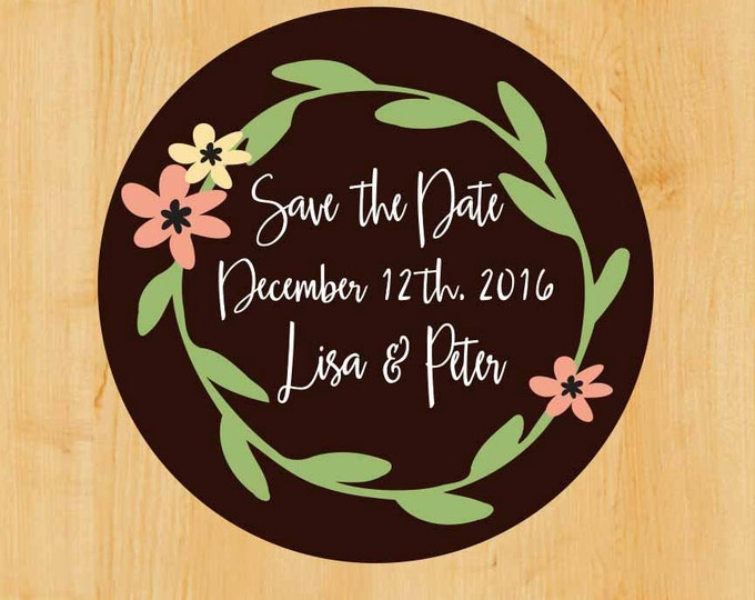 Wedding Labels | Wedding Shower Label | Personalized Label | Custom Label | Save the Date Label