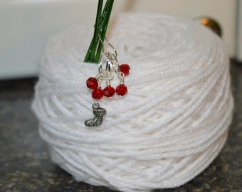 Christmas Stocking Stitch Markers