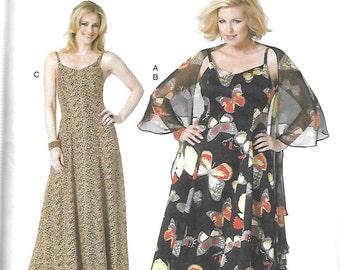 Butterick WRAP & DRESS by Connie Crawford Pattern 5761 Woman's Sizes XXL 1X 2X 3X 4X 5X 6X
