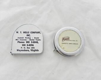 Advertising Tape Measurers - W.T. Wells Company, Inc. & Metric Constructors, Inc. - Lufkin