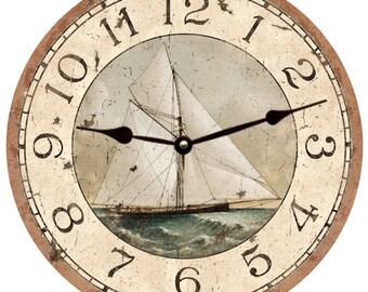 Sailboat Clock