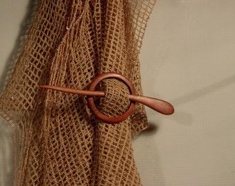 Wood Hair Pin/ Wood Hair Stick/ Wood Shawl Pin/ Wood hairstick