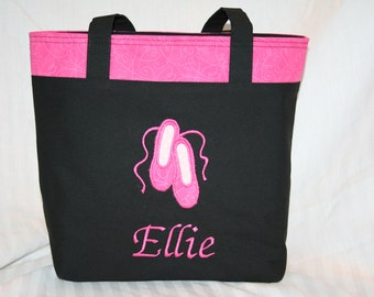 Personalized Ballet / Dance Tote Bag