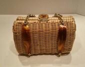 Vintage summer spring handbag