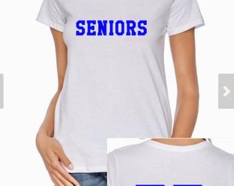 Original or Customized Ladies Dazed and Confused Senior Ringspun 4.5oz T-shirt