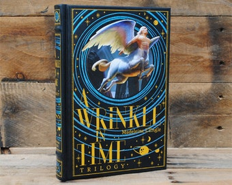 Hollow Book Safe - A Wrinkle in Time - Leather Bound