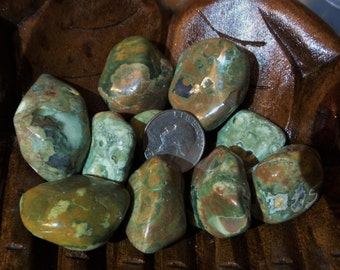 Rhyolite (Rainforest Jasper)