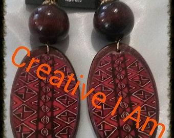 Afrocentric Elegant Dangle Earrings