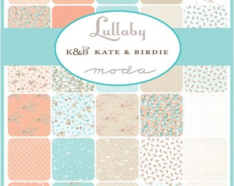Lullaby Fat Quarter Bundle by Kate & Birdie for Moda Fabrics