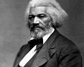 Frederick Douglas, Portrait, Photo Print