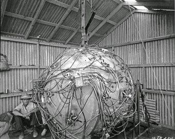 Atom Bomb, Trinity, Atomic Bomb, WWII, 1940's, Photo Print