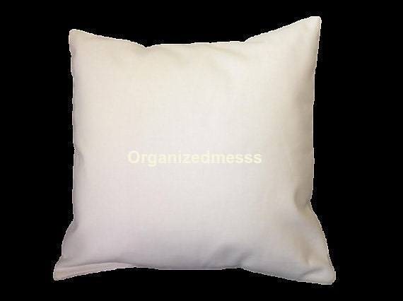 Throw Pillows Emoji : White canvas pillow cover blank throw pillow by organizedmesss