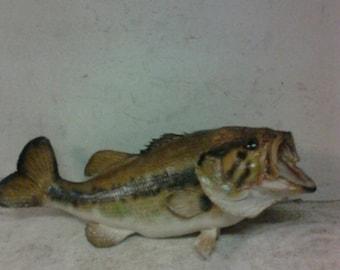 Vintage fish mount