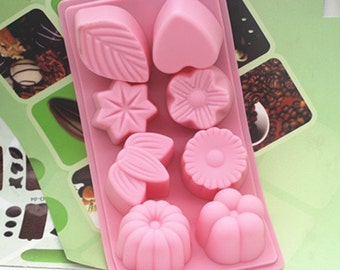 Flexible Silicone Cake Mould For Fimo Resin Crafts