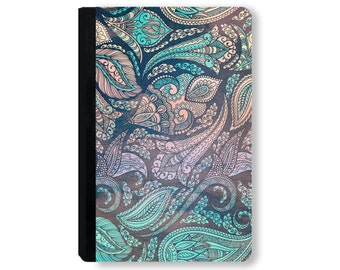 For Galaxy Tab Case, for iPad Air Case, universal tablet case, for kindle fire case, for ipad mini case, tablet case - Paisley