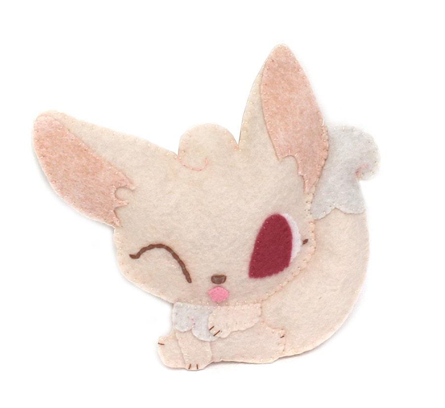 pdf sewing patterns - fennec fox stuffed animals
