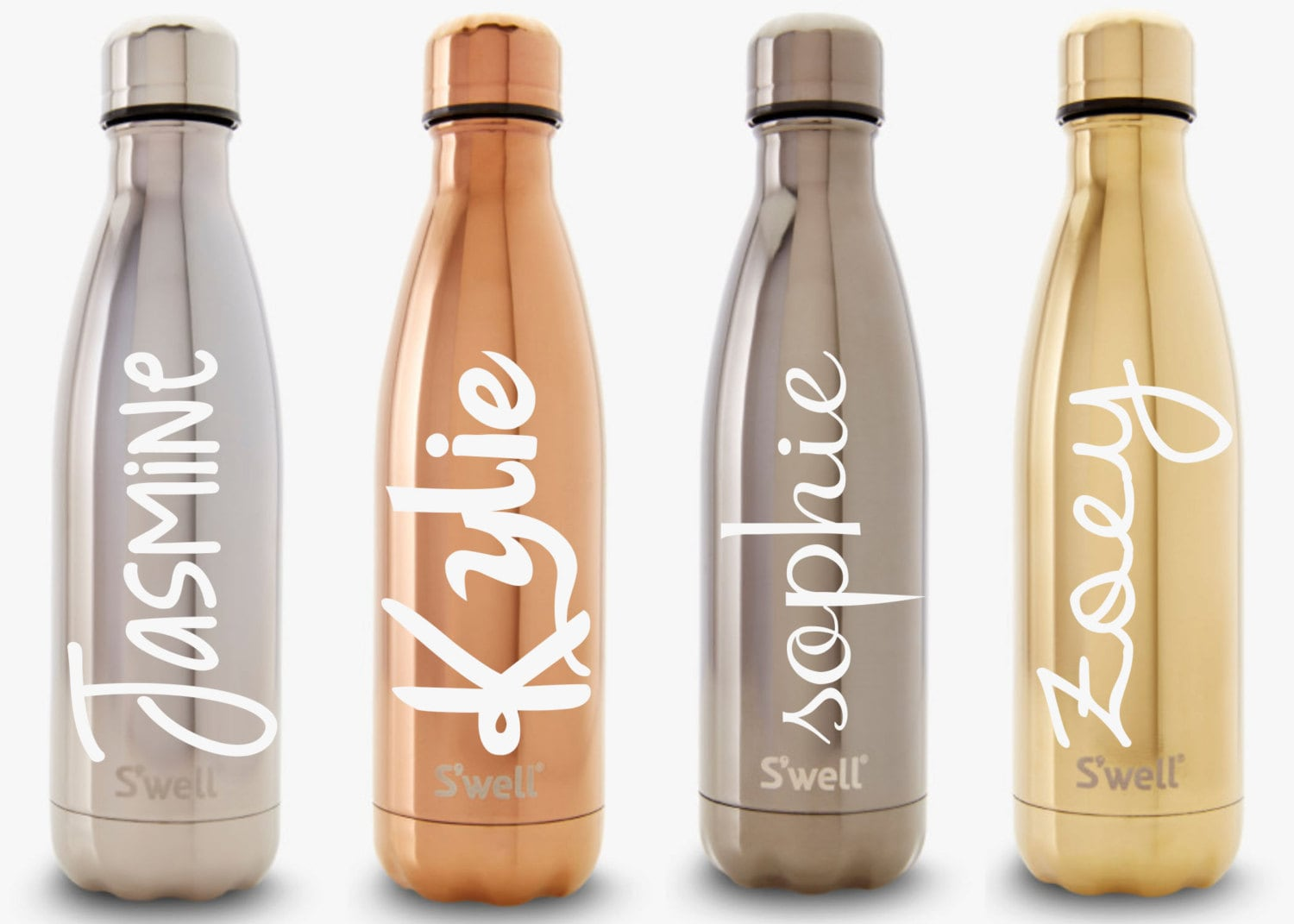 S Well Water Bottle With Personalized Custom Name