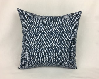 Navy Euro Sham Cover - Sham Pillow Cover Navy 26x26
