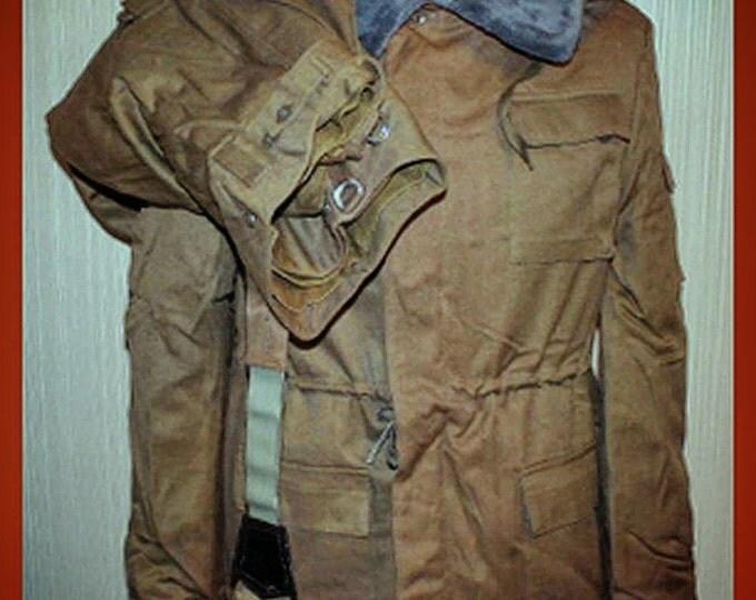 USSR Vintage Russian Military Winter Suit Jacket Pants Mabuta Afghanistan S 46-3