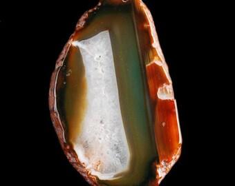 65mm  Multi Color 65mm Crystal Slice Freeform Agate Slice  Druzy Pendant Bead