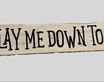 Now I Lay Me Down To Sleep Sign - hand painted sign - string art sign - prayer sign - nursery room - home decor - decorative sign