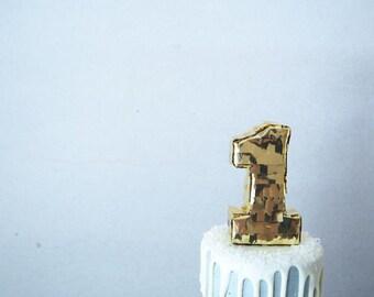 Mini Pinata Cake Topper