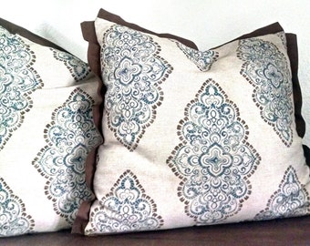 Add Welt, Piping, Trim, Fringe, Tassels, Flange, Jute Braid to any size pillow