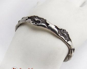 SaLe! sALe! Nautical Motif Cuff Bracelet Sterling Silver