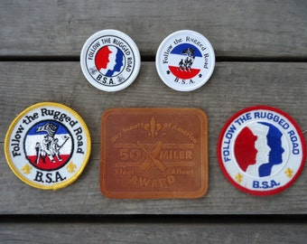 Boy Scouts of America Neckerchiefs and Patches