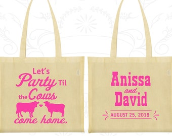 Tote Bags, Wedding Welcome Bags, Wedding Tote Bags, Personalized Tote Bags, Custom Tote Bags, Wedding Bags, Wedding Favor Bags (222)