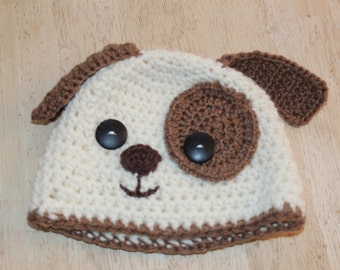 Crochet Puppy Hat