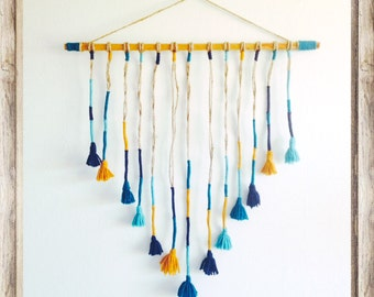 Handmade Yarn Wall Hanging