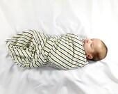 Organic baby blanket, ecofriendly baby gift, baby swaddle blanket, infant hospital gift, newborn baby swaddle, organic, boho arrow baby gift