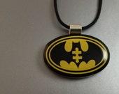 Batman Autism Pendant, Batman, Autism Awareness, Autism, Superhero Jewelry, Autism Superhero, Autism Dad