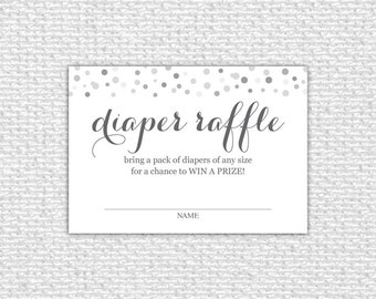 It is a graphic of Vibrant Free Printable Diaper Raffle Tickets Black and White