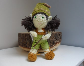 Amigurumi Crocheted Doll
