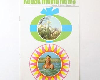 Kodak Movie News No. 20 Spring Summer 1967 Magazine