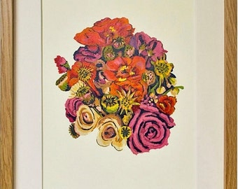 British Bouquet Ltd Print