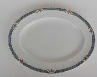 Vintage Johnson Bros Platter - JB 26 - Oval Dish