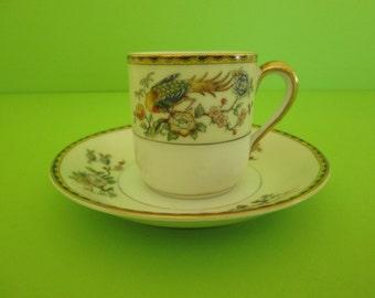 Noritake Demitasse Cup and Saucer, Datonia Pattern