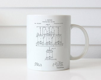 Explosive Missile Patent Mug, Military Gift, Science Mug, Gun Enthusiast, Armory, Firearm, PP0012