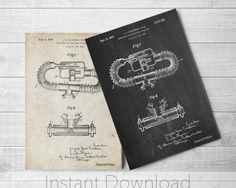 Diving Mouthpiece Printables, Underwater Art, Deep Sea Diving, Nautical Wall Decor, PP0896