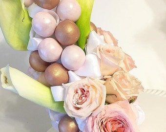 Cake Pop flower tower