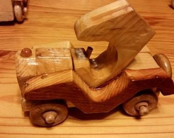Handmade Wood Cars